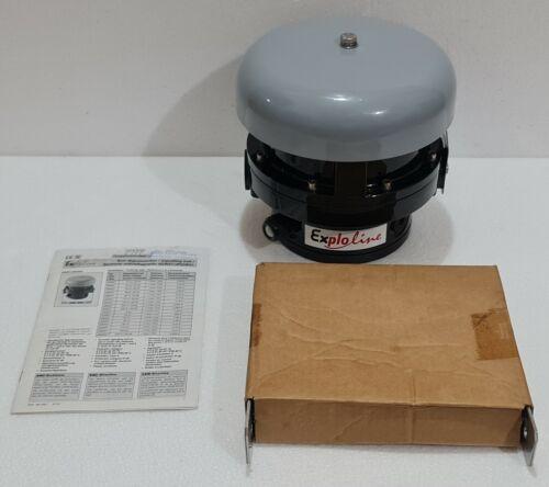 FHF TYPE: dGW21 EX-SIGNALLING BELL 240VAC/60Hz 9124011060