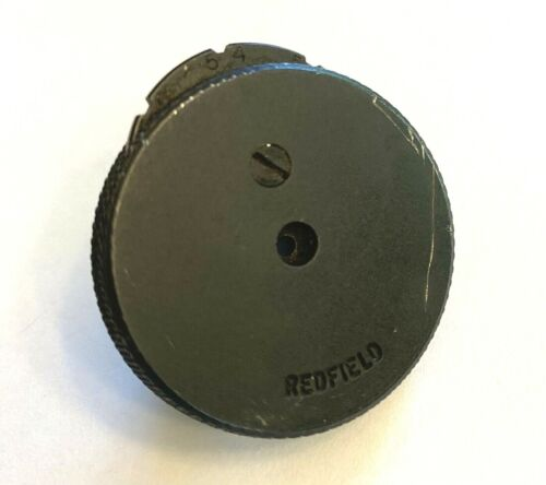Vtg. Redfield Sure-X Sure X Aperture Sighting Disc for International Olympic Etc