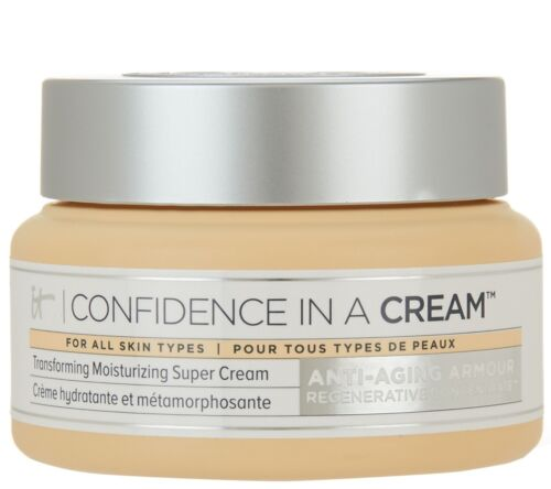 IT COSMETICS  Confidence in a Cream Moisturizing Super Cream NIB AUTH