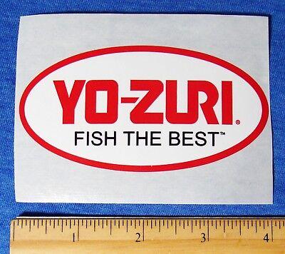 YO-ZURI Fishing Lures Sticker Fish Boat Truck Fish The Best YOZURI Bait
