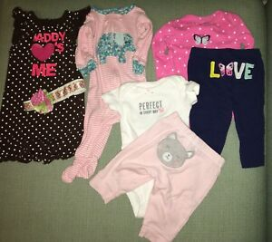 Baby girl wardrobe 0-3/3 month clothes