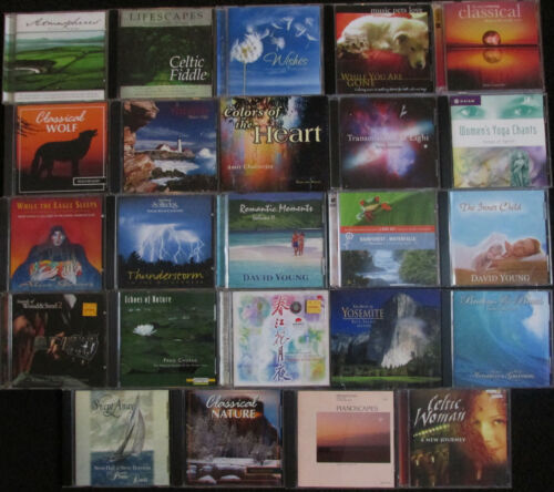 lot of 24 relaxation, instumental, etc CDs in very good condition FREE SHIPPING
