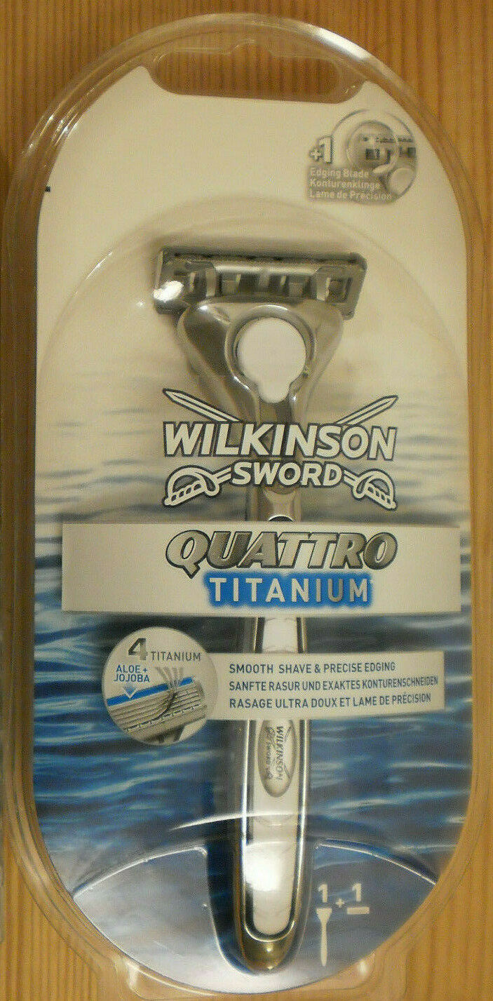 wilkinson sword quattro titanium rasierer