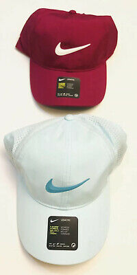 Nike Womens Legacy 91 Dry-Fit Perforated Golf Hat, Adj. strap back Select Color Adj Back Strap
