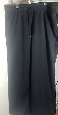 Under Armour Womens Large Black Semi-Fitted Cold Gear Pants Sweatpants NEW