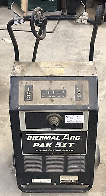 1 Used Thermal Arc Pak 5xt Plasma Cutter Does Not Operate Parts Only