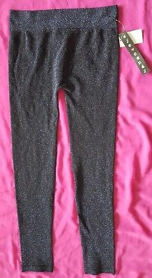 Eye Candy Metallic Legging Navy Blue Size L/XL New With Tags