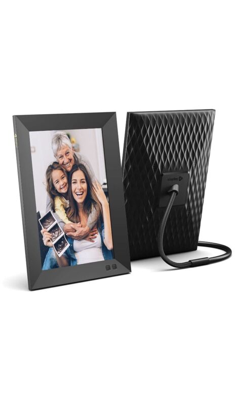 Nixplay Smart Digital Picture Frame 10.1 Inch,share Moments Instantly(email.app)
