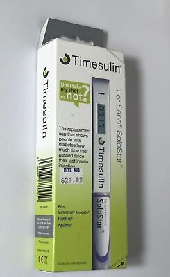 Timesulin Time Replacement Cap For Sanofi Solostar S9a001