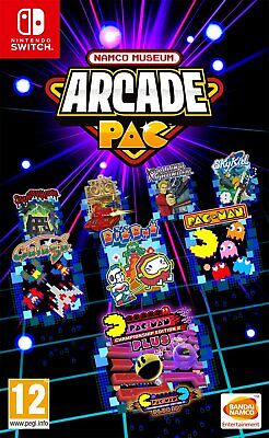Namco Museum Arcade Pac Nintendo Switch Brand New Factory Sealed