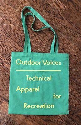 """Outdoor Voices Tote Bag Travel Grocery Gym - NASHVILLE ~ 15""""x 16.5""""  for sale  Shipping to South Africa"""