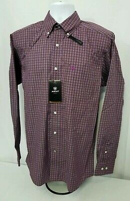 8d9d99af Ariat Purcell Pro Series Long Sleeve Western Shirt. Mens size 2XL. Fitted.