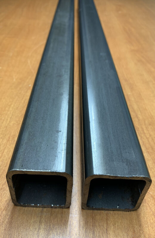 """(2-PACK) 1.5""""x1.5"""" x96""""L (8ft) STEEL SQUARE TUBING 1/16"""" THICK (16ga)"""