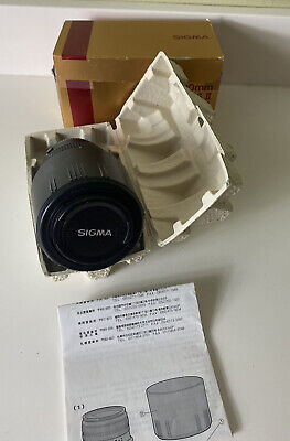 Sigma DG 70-300mm f/4.0-5.6 DG Lens For Canon AF Macro Super Filter Size 58