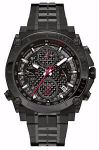 Bulova-Men-039-s-98B257-Precisionist-Chronograph-Black-Stainless-Steel-Watch