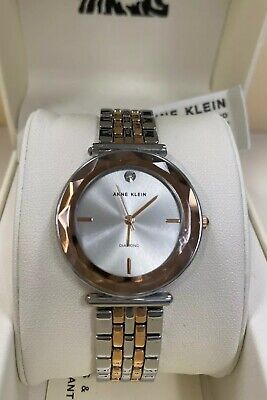 Anne Klein 3413 SVRT  Women's 32MM Crystal Accent Watch