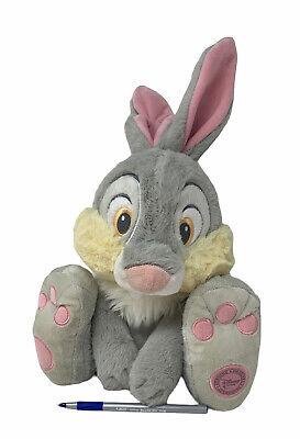 "Disney Store Authentic Plush Bambi Thumper Bunny Rabbit Big Feet 11"" Soft Toy"
