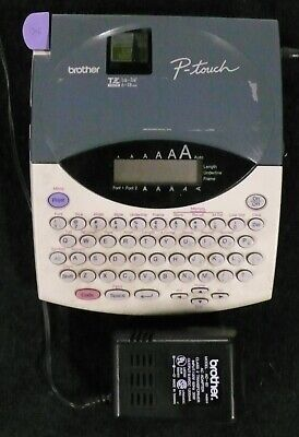 Brother P-touch Pt-1800 Label Maker With Power Supply Excellent Working