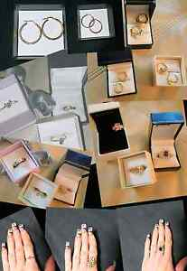 Ladies 9ct gold jewellery/ rings, earrings, bracelets  ect Huntingdale Gosnells Area Preview