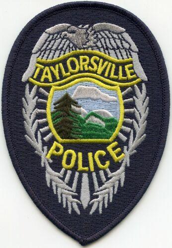 TAYLORSVILLE NORTH CAROLINA NC POLICE PATCH