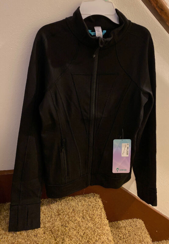 NWT Ivivva By Lululemon Perfect Your Practice Jacket SZ 14 BLK Black