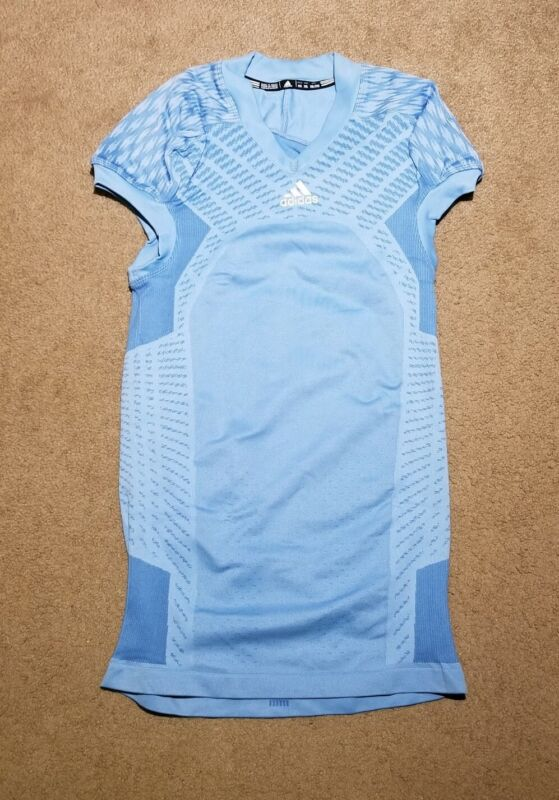 BNWOT 2000s Adidas Baby Blue Football Practice Jersey Size 2XL SUPER NICE!!