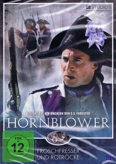 DVD NEU/OVP - Hornblower 4 - Froschfresser und Rotröcke - Ioan Gruffudd