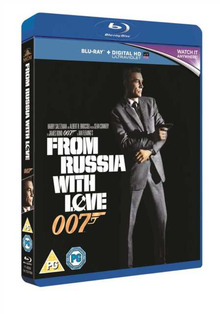 FROM RUSSIA WITH LOVE BLU-RAY FILM