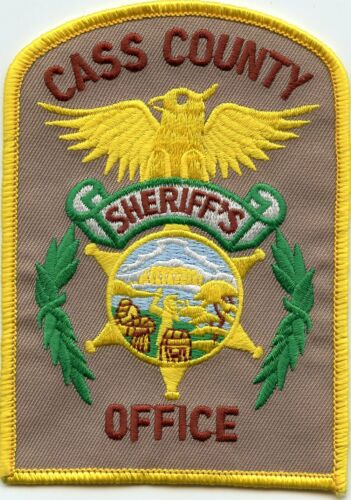 CASS COUNTY NEBRASKA NE SHERIFF POLICE PATCH