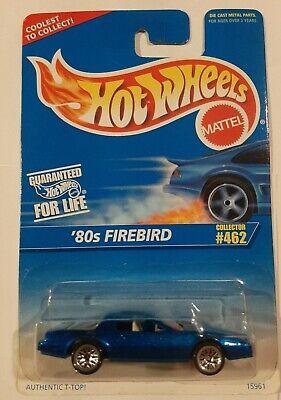 HOT WHEELS VHTF BLUE CARD SERIES 80'S FIREBIRD #462