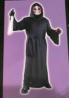 Totally Ghoul Men's Bleeding Grim Reaper Halloween Costume One Size NEW Adult