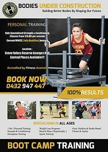 Kids Fitness Personal Training Punchbowl Canterbury Area Preview