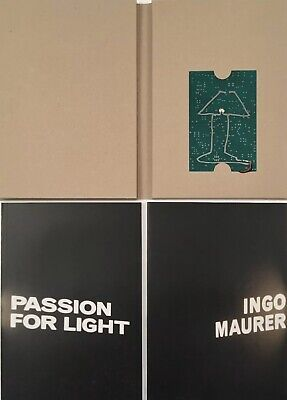 Ingo Maurer 'Passion For Light' Two Volume Set Includes Original Lamp By IM