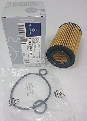 Genuine Mercedes-Benz OM651 Oil Filter W205 C-Class C200 C220 C250d A6511800109