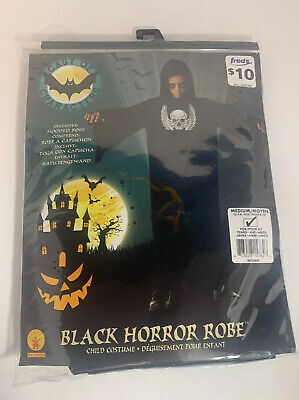 Halloween Cast of Characters Boys Horror Robe Size Medium (8-10) NWT
