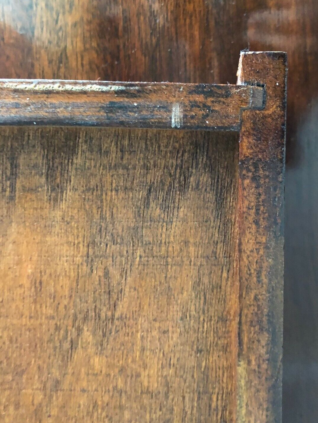 Drop-leaf Game Side Card Table Tea Cart Pembroke Style Dovetail Drawer Tray - $250.00