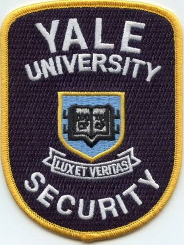 YALE UNIVERSITY CONNECTICUT CT CAMPUS SECURITY police PATCH