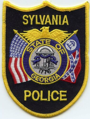 SYLVANIA GEORGIA GA POLICE PATCH