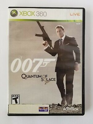 James Bond 007: Quantum of Solace (Microsoft Xbox 360, 2008) FAST SHIPPING!!!