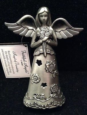 NEW Pewter Faithful Angel of Friendship Figurine by Ganz