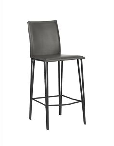 Faux Leather Counter Stool - 5 brand new still in box  in black
