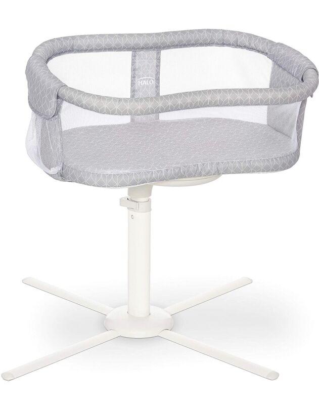 Halo BassiNest Essentia 360 Swivel Infant Sleeper, Morning Mist, New, Open Box