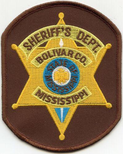 BOLIVAR COUNTY MISSISSIPPI MS SHERIFF POLICE PATCH