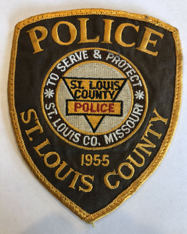 St Louis County Police Patch