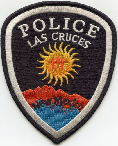 LAS CRUCES NEW MEXICO NM POLICE PATCH