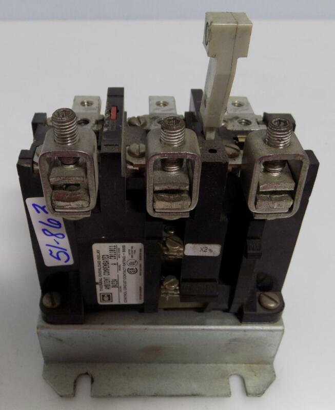 CUTLER HAMMER THERMAL OVERLOAD RELAY BA33A MODEL A