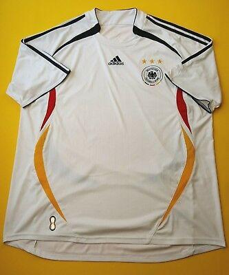 74b627eff 4.4 5 Germany soccer jersey 2XL 2005 2006 home shirt football Adidas ig93