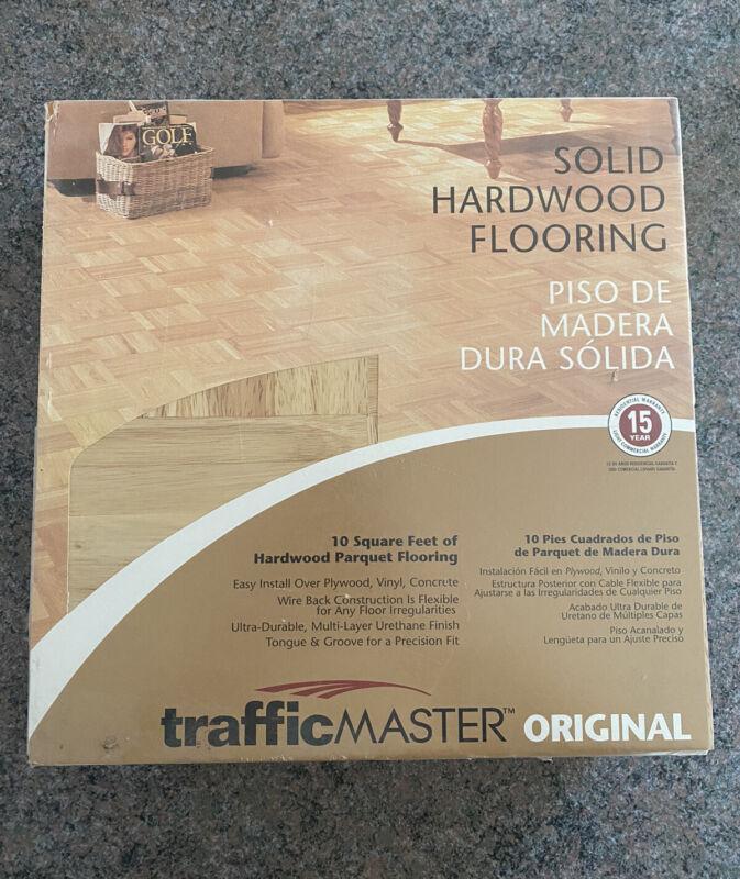 Traffic Master Original Hardwood Parquet Flooring #77336 Brand New Sealed