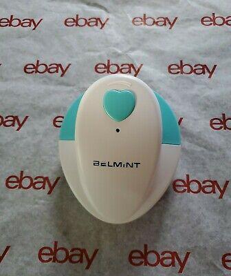 Baby Heartbeat Doppler Fetal Ultrasonic Detector Earphones Electrode Gel