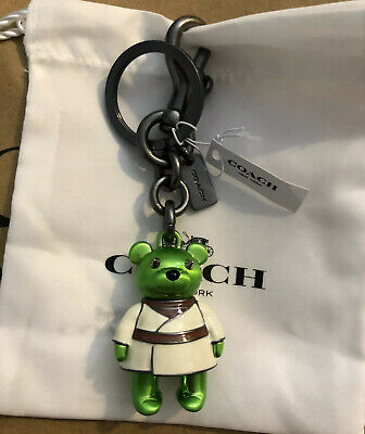 Bears In Star Wars (COACH Star Wars Yoda Bear Keychain NWT IN)